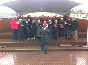 Julemarked på Nicolai Søn. d. 8. dec. 2013