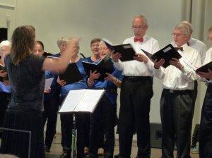 Nicolaikorets 70 års Jubilæumskoncert på Nicolai Scene